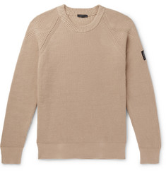 Belstaff Ribbed Cotton Sweater