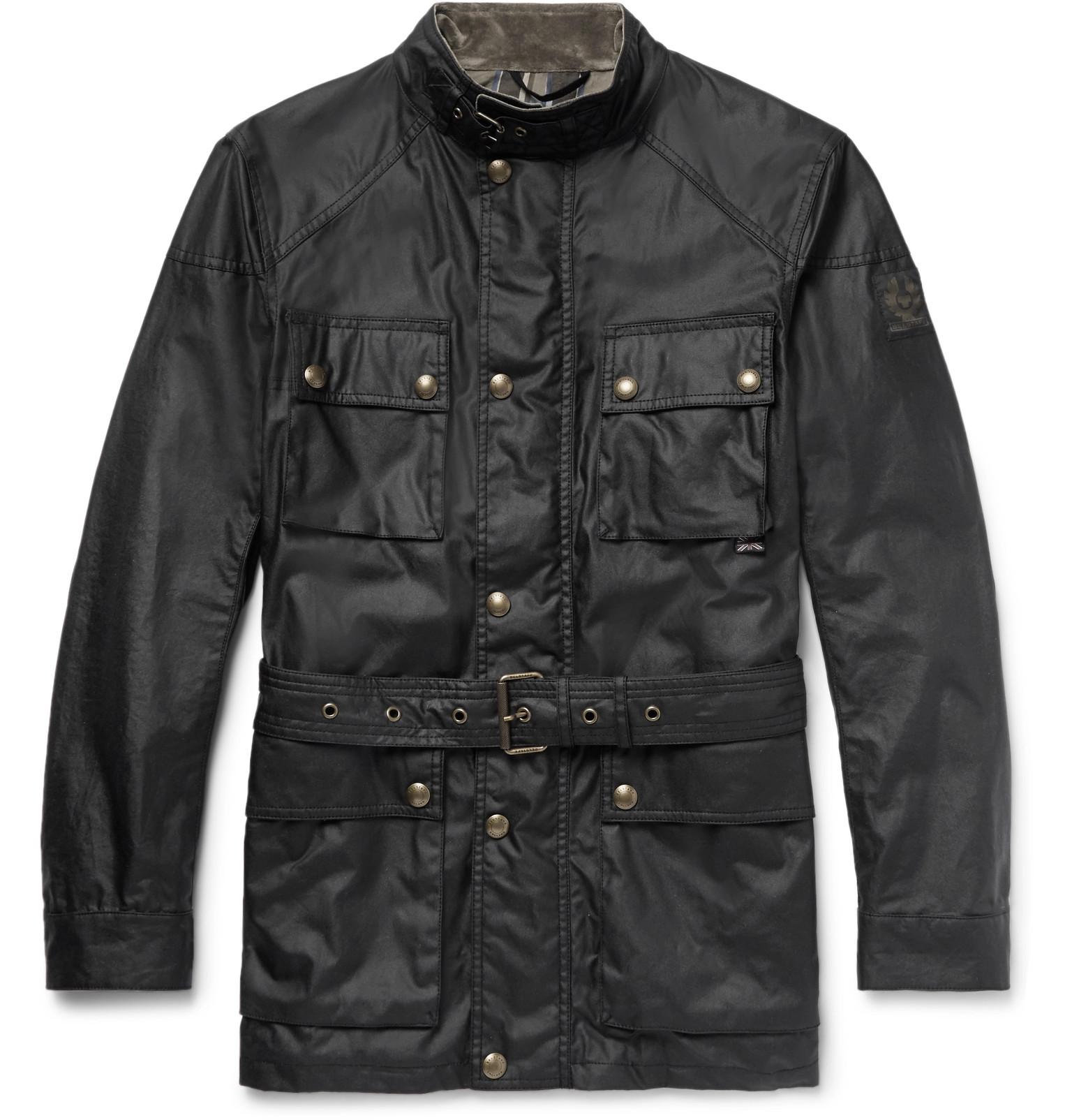 3c9cb94937 Belstaff - Trialmaster Waxed-Cotton Jacket