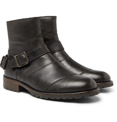 Belstaff - Trialmaster Distressed Leather Boots