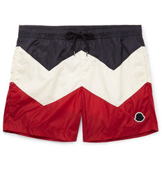 Moncler Mid-Length Colour-Block Swim Shorts