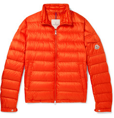 Moncler Lambot Slim-Fit Quilted Shell Down Jacket