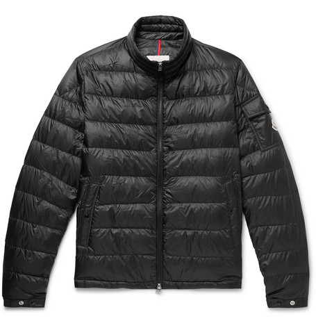 MONCLER | Moncler - Lambot Quilted Shell Down Jacket - Black | Goxip