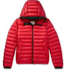 Moncler Morvan Slim-Fit Quilted Shell Hooded Down Jacket