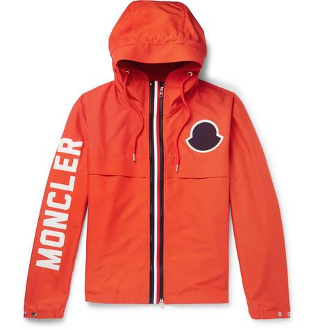 d29aa5cbe8d Moncler – Montreal Logo-print Shell Jacket – Orange