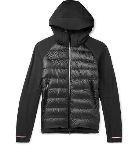4f5cad73e Moncler - Fabian Panelled Quilted Shell Hooded Down Jacket