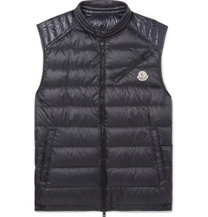 Moncler Arv Quilted Shell Down Gilet