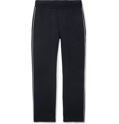 Moncler - Striped Stretch-Cotton Jersey Sweatpants