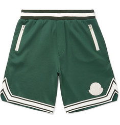 c8ad11970a2 Moncler Striped Jersey Shorts