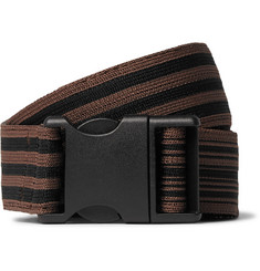 Dries Van Noten - 4cm Brown Webbing Belt