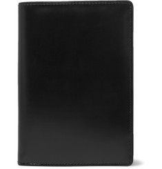 Dries Van Noten Glossed-Leather Travel Wallet
