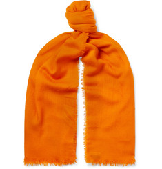 Dries Van Noten - Fringed Cashmere-Jacquard Scarf