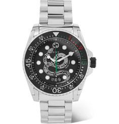 Gucci - Gucci Dive 45mm Stainless Steel Watch
