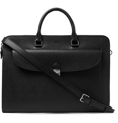 Tod's - Pebble-Grain Leather Briefcase