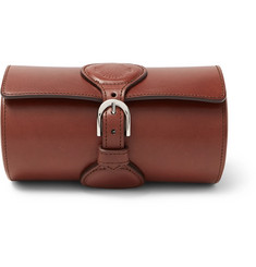 James Purdey & Sons Leather Watch Roll