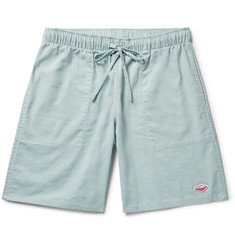 Battenwear - Active Lazy Linen and Cotton-Blend Drawstring Shorts