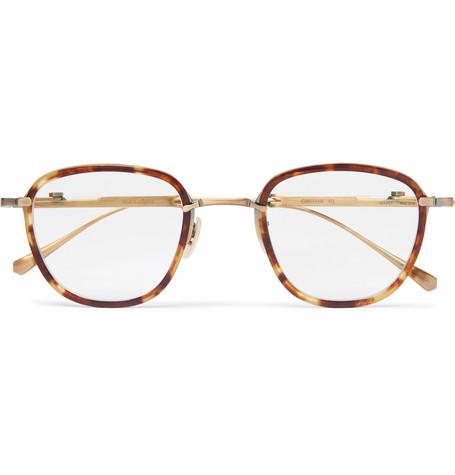 MR LEIGHT | Mr Leight - Griffith Square-frame Tortoiseshell Acetate Optical Glasses - Tortoiseshell | Goxip