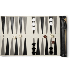 Versace - Leather Backgammon Set