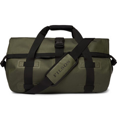 Filson Leather-Trimmed Shell Duffle Bag