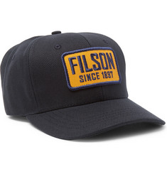 Filson Logo-Appliquéd Cotton-Twill Baseball Cap