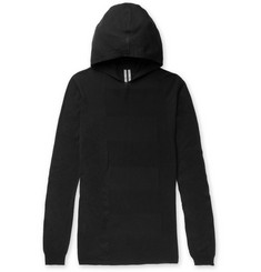 Rick Owens - Slim-Fit Virgin Wool Hoodie