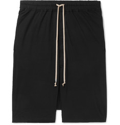 Rick Owens Pod Cotton-Jersey Shorts