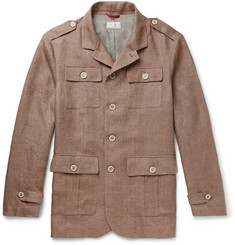Brunello Cucinelli Linen Field Jacket