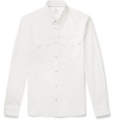 Brunello Cucinelli Cotton Western Shirt
