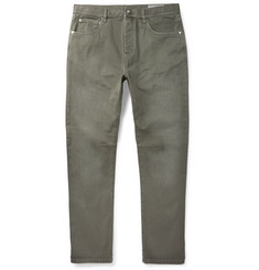 Brunello Cucinelli Tapered Stretch-Denim Jeans
