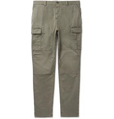 Brunello Cucinelli Stretch-Cotton Cargo Trousers