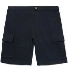 Brunello Cucinelli Cotton-Blend Jersey Cargo Shorts