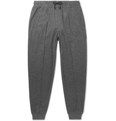 Brunello Cucinelli - Mélange Cashmere-Blend Sweatpants