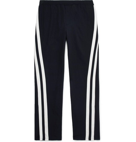 Striped Virgin Wool Track Pants by Valentino