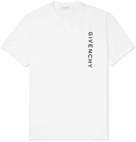 Givenchy - Slim-Fit Logo-Embroidered Cotton-Jersey T-Shirt