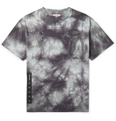 Palm Angels - Logo-Print Tie-Dyed Cotton-Jersey T-Shirt