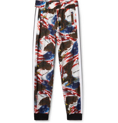 Palm Angels Tapered Printed Shell Sweatpants
