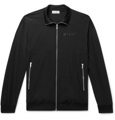 Palm Angels Slim-Fit Logo-Print Tech-Jersey Track Jacket