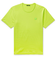 Acne Studios Nash Appliquéd Cotton-Jersey T-Shirt