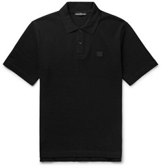 Acne Studios Elton Cotton-Piqué Polo Shirt