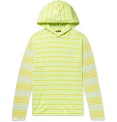 Acne Studios Emest Striped Cotton-Jersey Hoodie