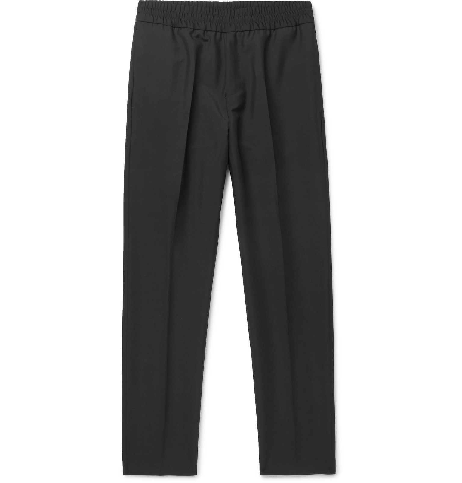 06ccc9fef7b1 Acne Studios - Black Ryder Wool and Mohair-Blend Trousers