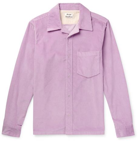 Denver Cotton Corduroy Shirt by Acne Studios