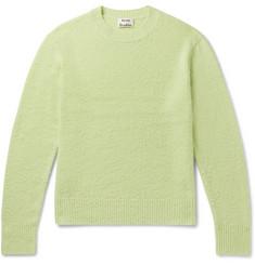 아크네 스튜디오 '필' 울캐시미어 스웨터 - 라이트 그린 Acne Studios Peele Bobbled Wool and Cashmere-Blend Sweater,Green