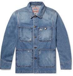 Acne Studios Albyr Distressed Denim Chore Jacket