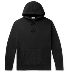 John Elliott Fleece-Back Cotton-Blend Jersey Hoodie