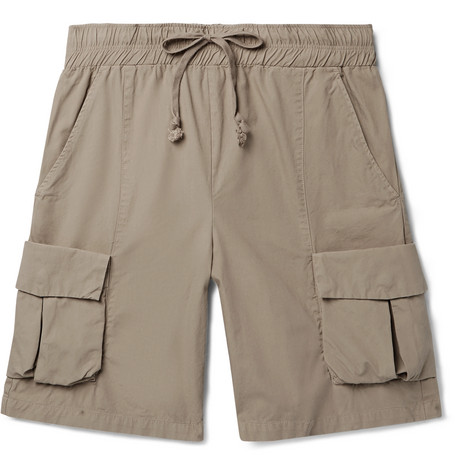 John Elliott Shorts COTTON CARGO SHORTS