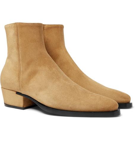 Dallas Suede Boots - Beige