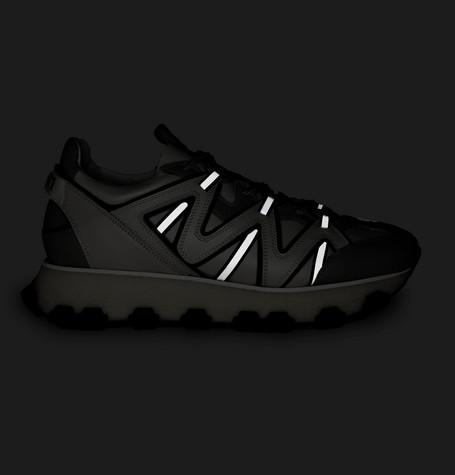 Lanvin Sneakers Lightning Leather Sneakers