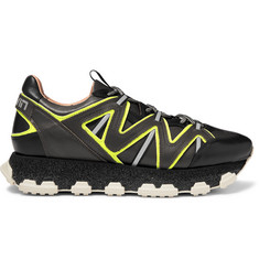 Lanvin Lightning Leather Sneakers