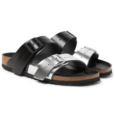 Rick Owens + Birkenstock Arizona Two-Tone Leather Sandals