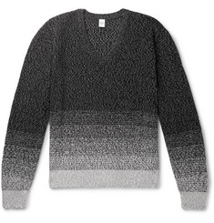 Berluti Cotton and Mulberry Silk-Blend Sweater